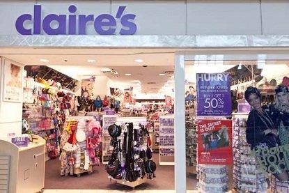 В России второй раз закрываются магазины бижутерии Claire's