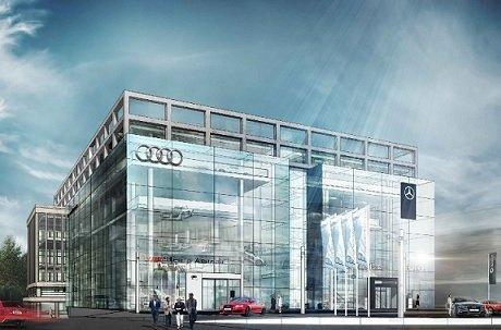 Новый дилерский центр Audi и Mercedes будет построен в стили конструктивизма caec4493ce4